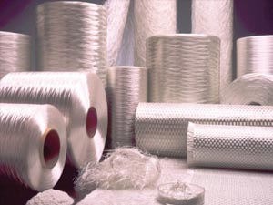 Raw materials for composite materials